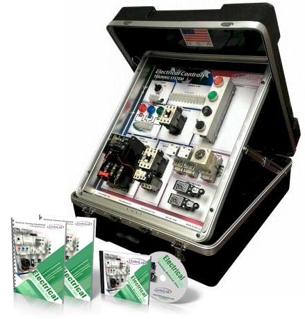 Portable Electrical Motor Controls Training System Vocational Training Equipment Curriculum
