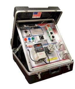 Portable Allen Bradley VFD Training System   LearnLab Training Systems
